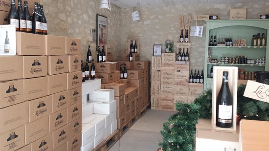 Domaine de la Ramade : Caveau de vente