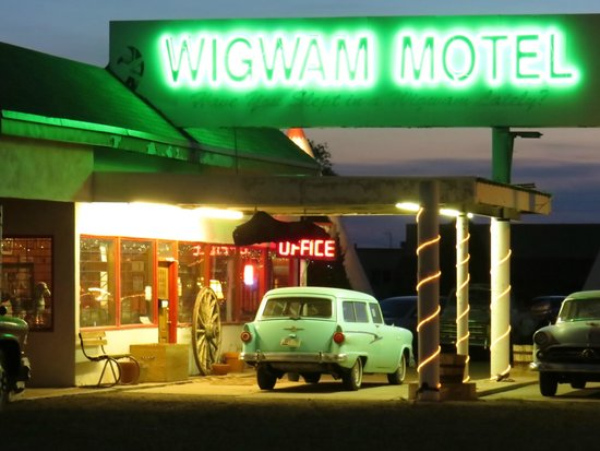 Wigwam Motel: Yes...it is great for photos.