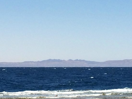 Acacia Dahab Hotel: View of Gulf of Aqaba