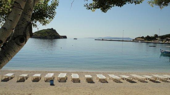 Chryssi Akti Hotel: Пляж Кери