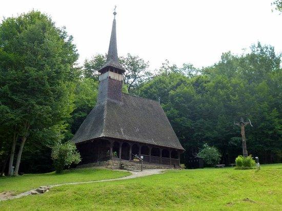 ASTRA Museum: chiesetta di legno