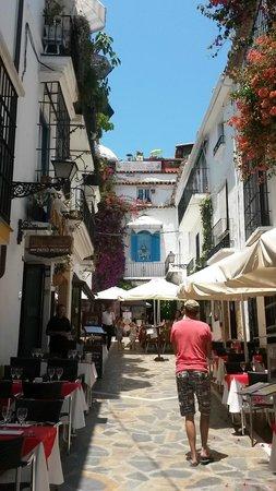 Casco antiguo de Marbella: 旧市街