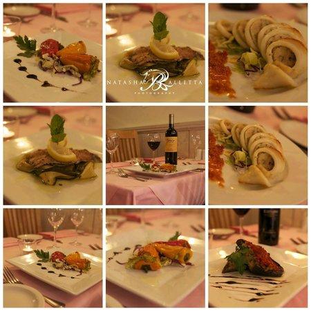 Martini Restaurant: Dishes from regional cuisine nights