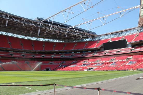 Wembley Stadium: Wembley innen