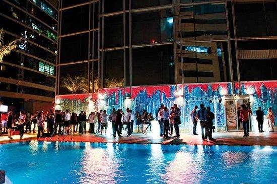 Media One Hotel Dubai : Lovely soccer night
