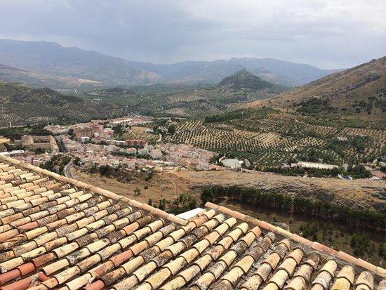Parador de Jaén: View from the balcony