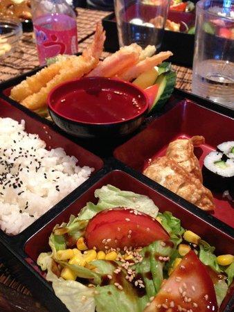 Miso: Very nice Bento box!