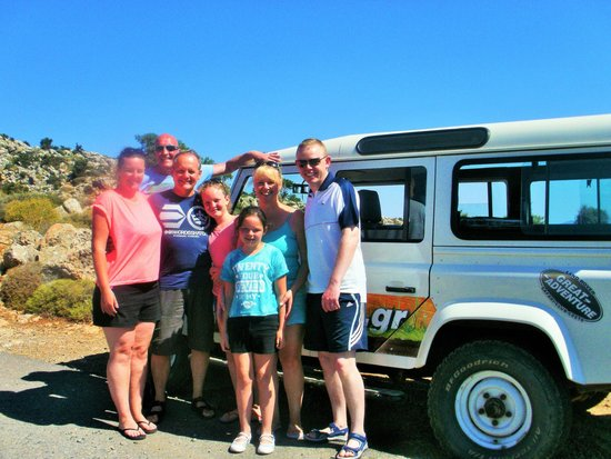 Safari Club Crete: Geordie family on safari - photo by Brian!!