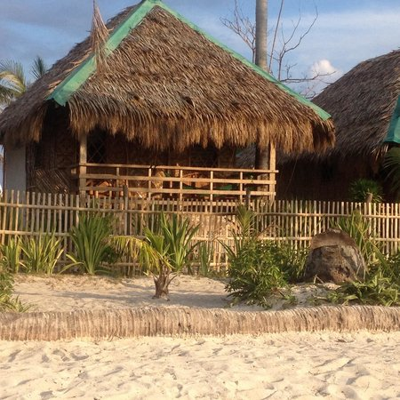 White Sand Bungalows: the bungalow