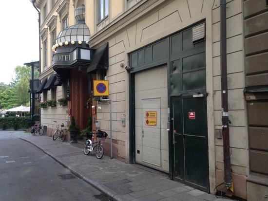 Berns Hotel: Hoteleingang