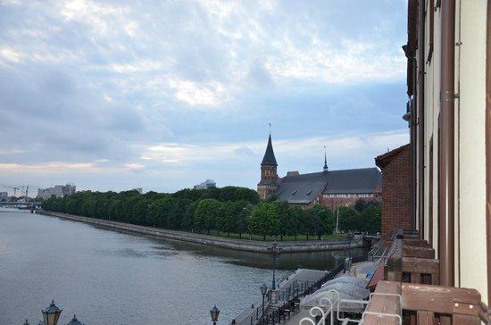 Skipper Hotel: Вид с балкона