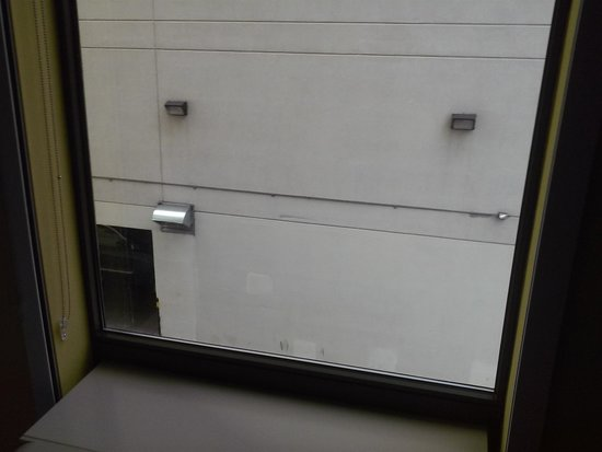 Home2 Suites by Hilton New York Long Island City/ Manhattan View: View of Holiday inn garage wall from 206