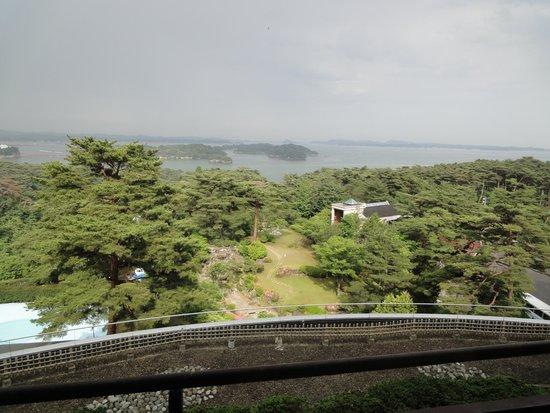 Hotel Taikanso: 窓から
