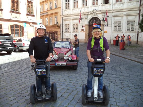 SEGWAY EXPERIENCE: Segway and E-Scooter Tours: Sagway tour
