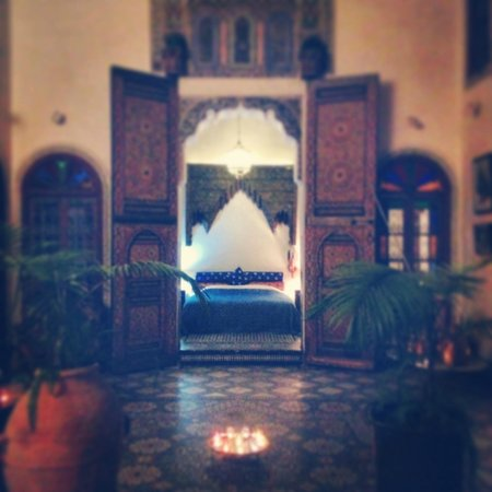 Riad Idrissy: gorgeous bedroom