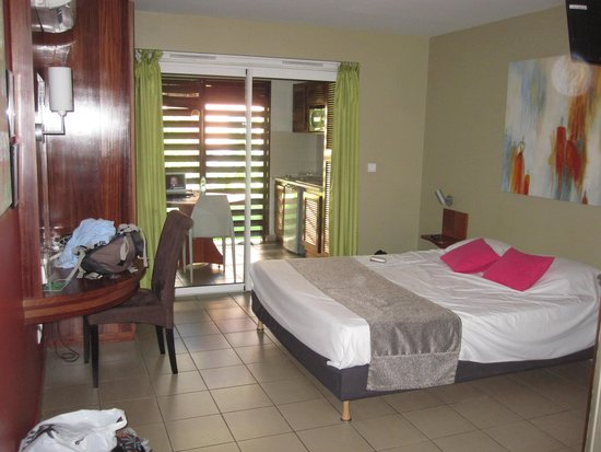 Residence Tropic Appart'hotel : Notre chambre