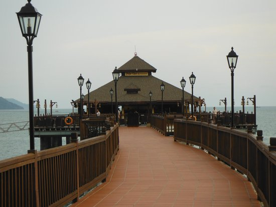 Pahn-Thai Restaurant: Pahn Thai jetty