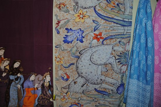Chester Beatty Library's scarves
