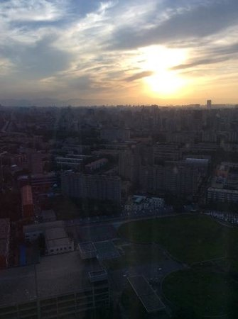 The Westin Beijing Chaoyang: View from club lounge