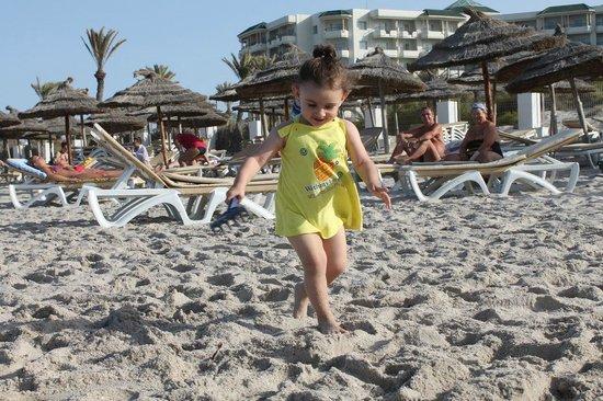 Iberostar Royal El Mansour : Ну пляж нам не сильно понравился((