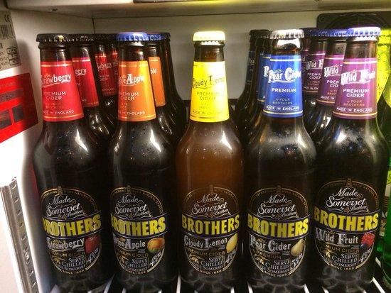 Kings Arms: Ciders