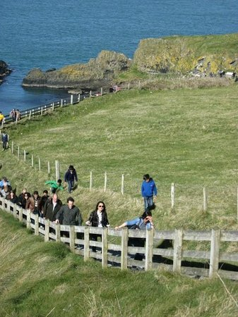 Causeway Coastal Route: walk rope bridge