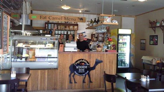 Fat Camel: Cafe Inside