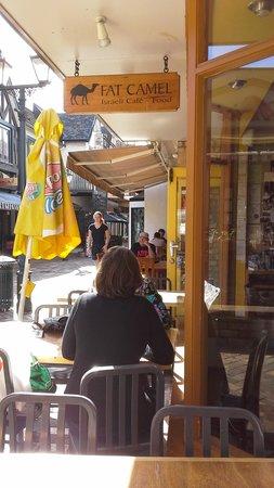 Fat Camel: Cafe Outside