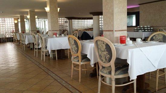 Hotel Grand Torino: sala colazione