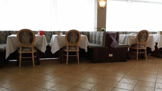 Hotel Grand Torino: sala colazione dettaglio