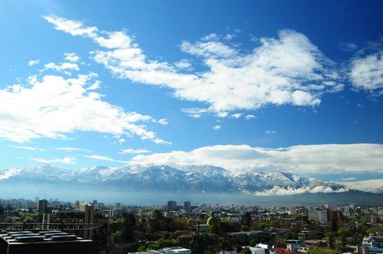 NH Ciudad de Santiago: Hotel view