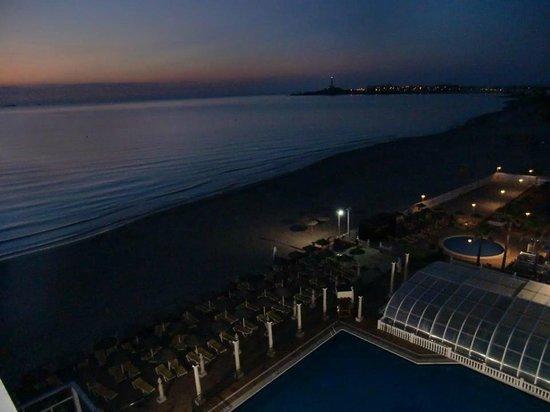 Hotel Entremares: Amanecer frente al Cabo de Palos.