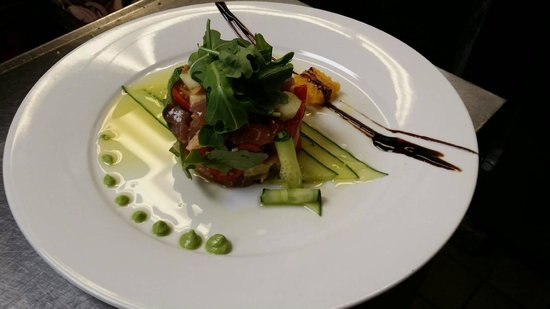 Vidalia Restaurant: Tuna and Lobster Tartare