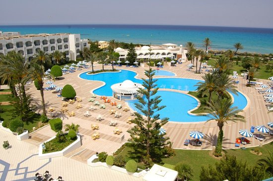Mahdia Palace Thalasso : Pool view