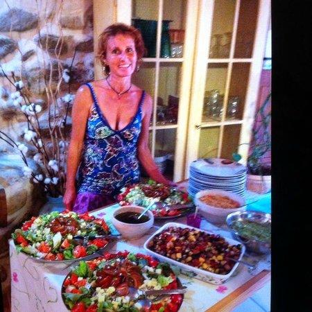 Mas du Canigou: Sylvie Tostivint, très accueillante et fait une cuisine délicieuse avec amour