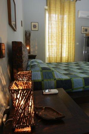 Villa Etelka Bed and Breakfast: Camera Etnca Blu
