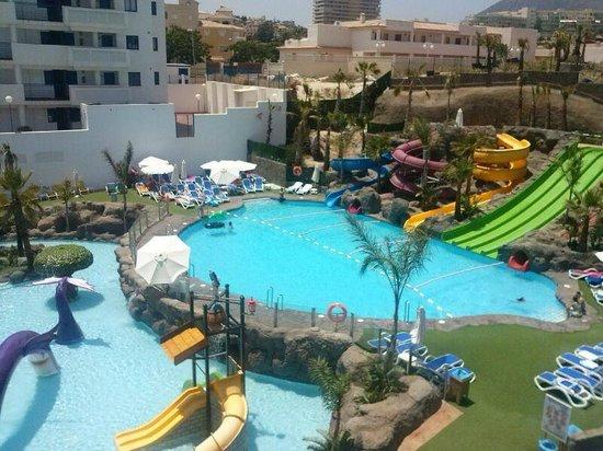 Hotel Los Patos Park: toboganes adultos y niños