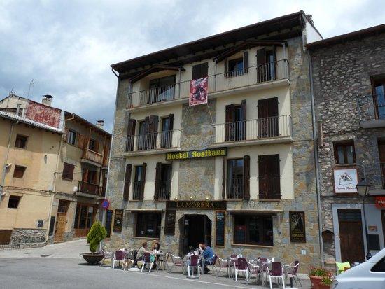 Hostal Sositana: Fachada y Restaurante