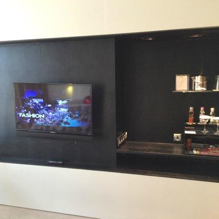 W Bangkok: TV and in room bar