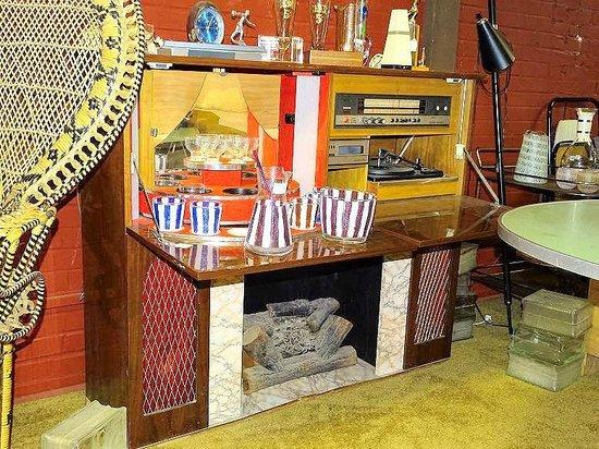fireplace/bar/entertainment center??? - Picture of Sanford Antique ...