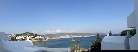 Voyage Bodrum: View from room