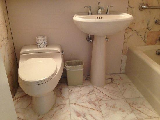 Resorts Casino Hotel : First bathroom
