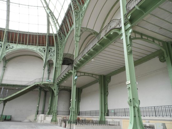 Grand Palais : estrutura