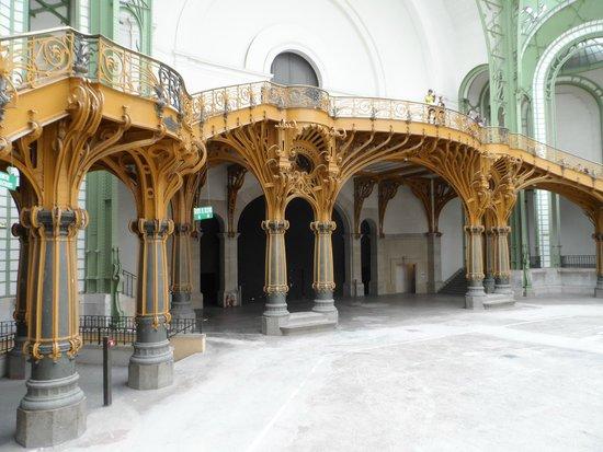 Grand Palais : escada
