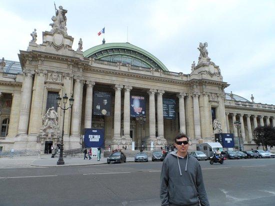 Grand Palais : lado de fora