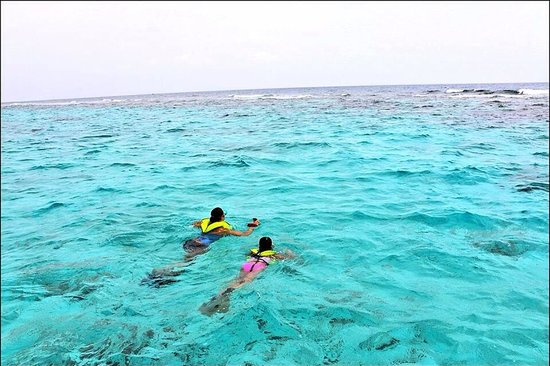 Charter Cayman: Snorkeling with my daughter