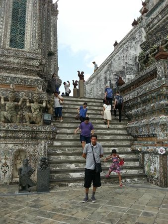 Temple de l'Aube (Wat Arun) : wat arun 1