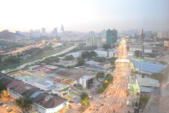 The Pearl Kuala Lumpur : view from room