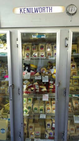 Kenilworth Country Food: Cheese cabinet