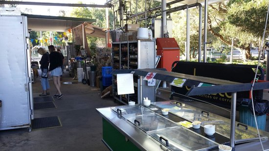 Kenilworth Country Food: Cheese tasting area